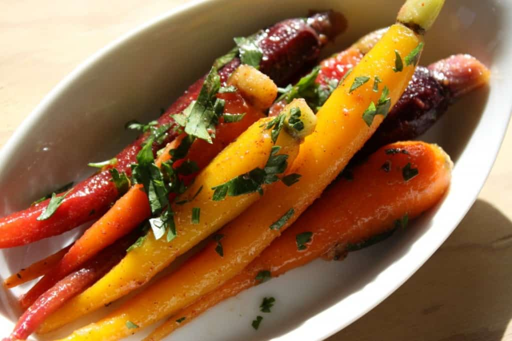 Moroccan Spice Marinated Carrots