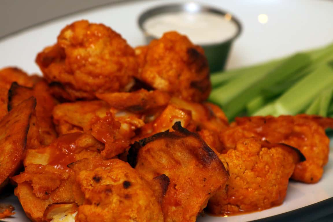 "Buffalo Cauliflower ""Wings"""