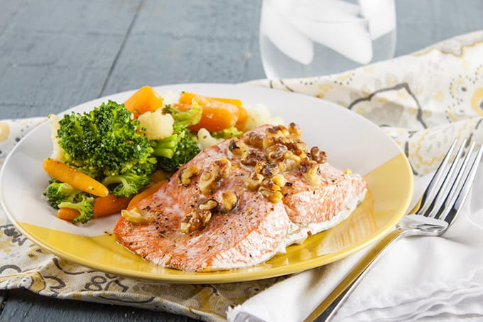 Maple Walnut Salmon