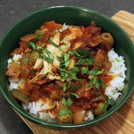Crockpot Creole Chicken
