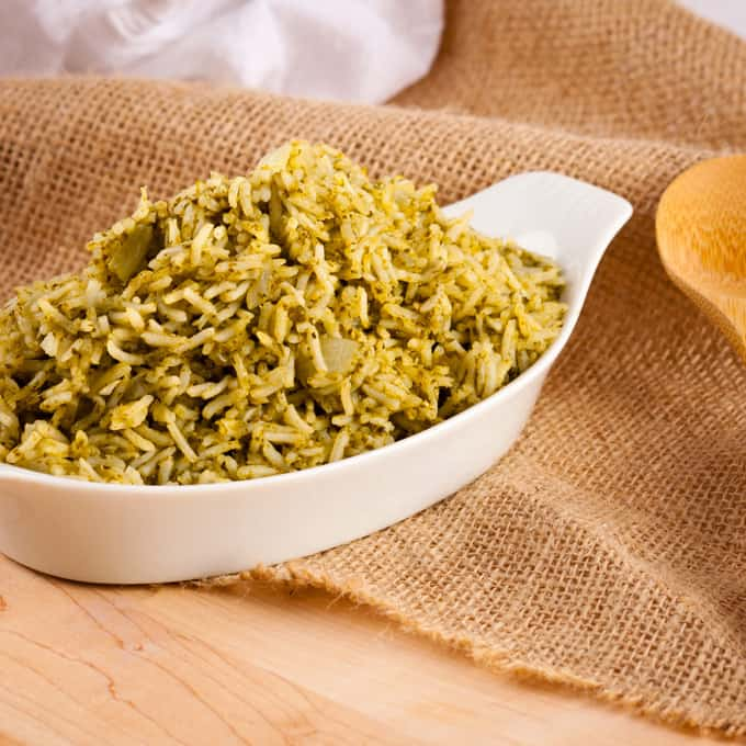 Arroz Verde: Green Rice