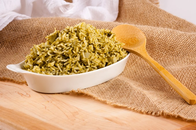 Arroz Verde: Spanish Green Rice