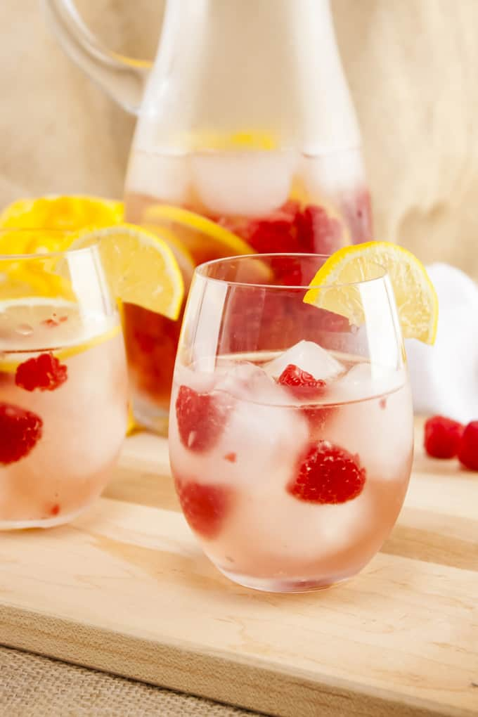 Sparkling Raspberry Lemonade Sangria Recipe
