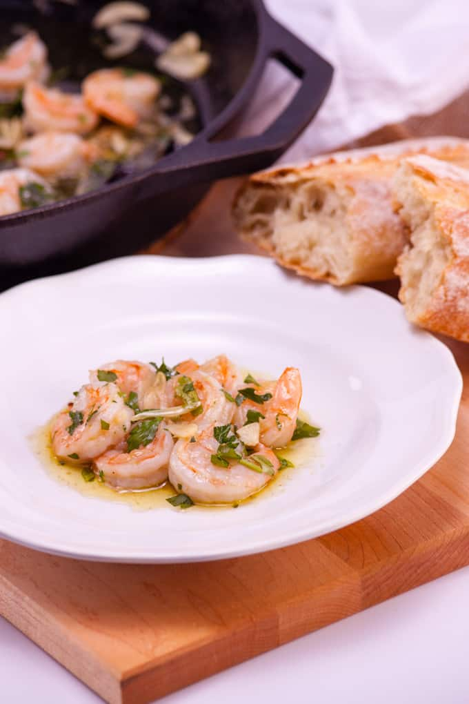 Spanish-Style Garlic Shrimp