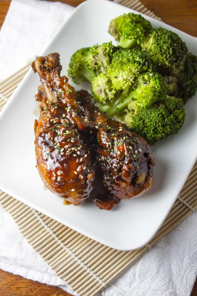 Asian Glazed Drumsticks | Home Sweet Jones