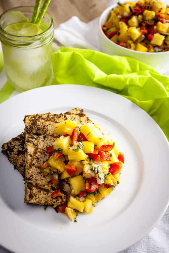 Pineapple Jerk Tofu Recipe — Dishmaps
