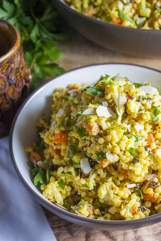 Curry Israeli Couscous