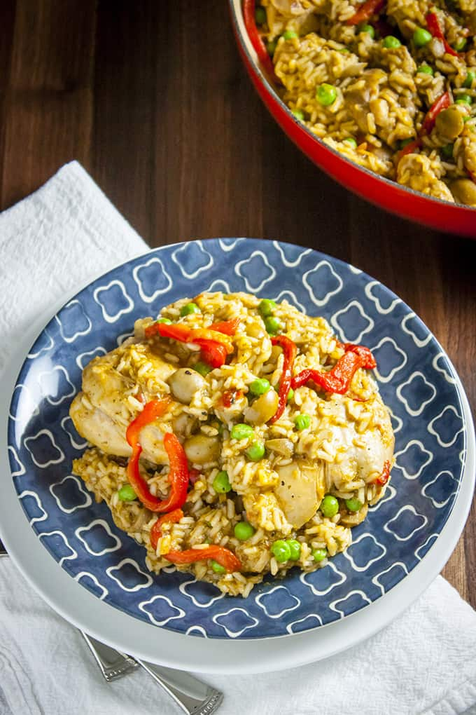 arroz con pollo lightened up arroz con pollo lightened up the lid on ...
