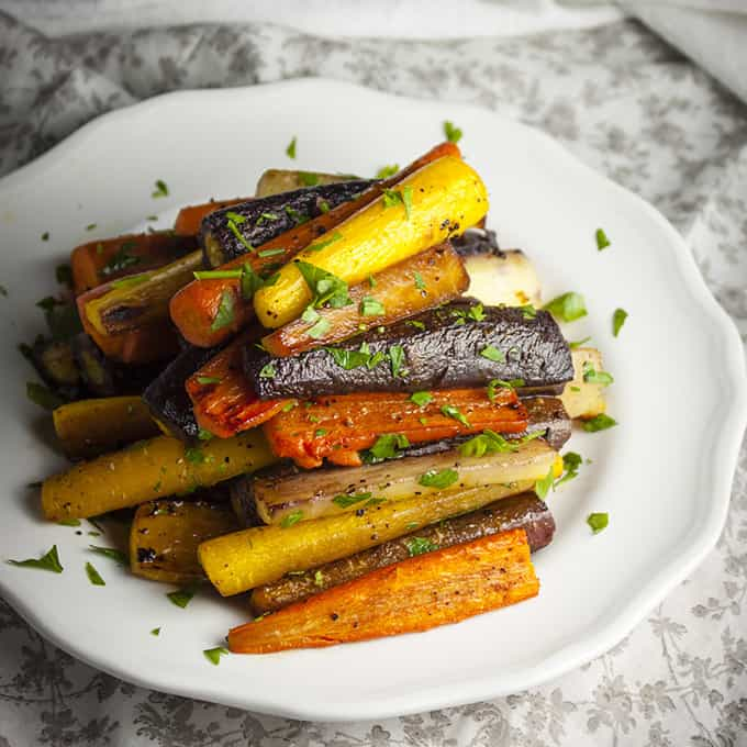 The Best Roasted Carrots