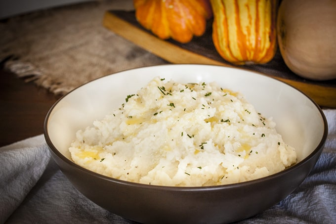 The Lowest Calories, Creamiest Skinny Mashed Potatoes