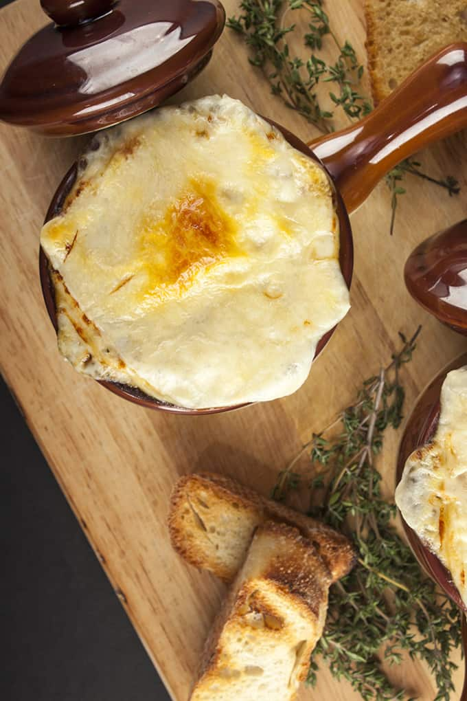 Hands down the best French Onion Soup