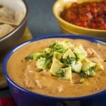 Dairy free, lightened up Vegan Queso Dip