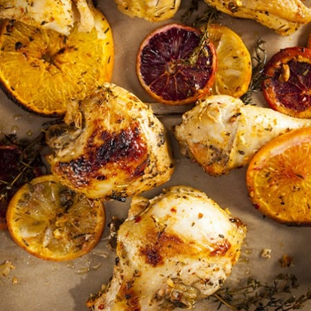 Simple Citrus Herb Baked Chicken