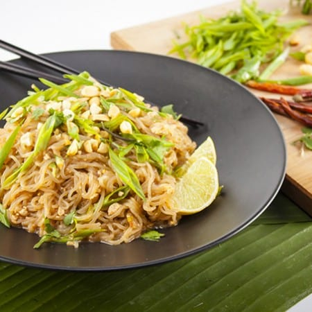 Vegan Shirataki Pad Thai and Miracle Noodle Giveaway