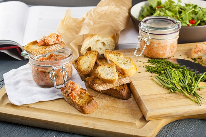 Thomas Keller's Salmon Rillettes