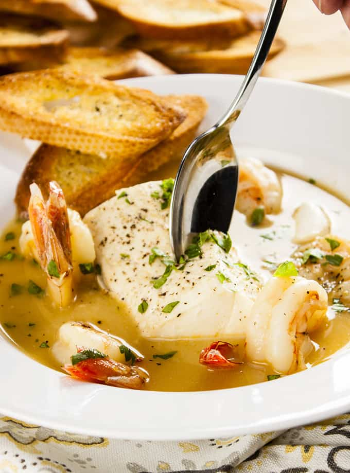 Rich, flavorful seafood stew