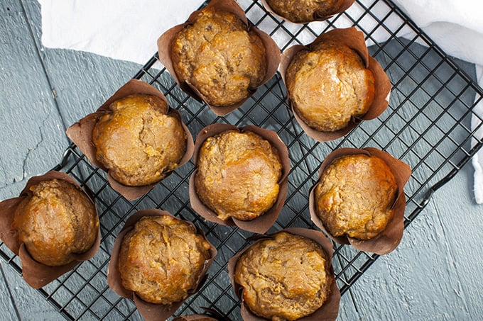 These refined sugar-free muffins are chock full of superfoods