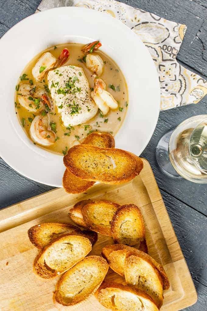This delicate French seafood stew is so elegant and flavorful