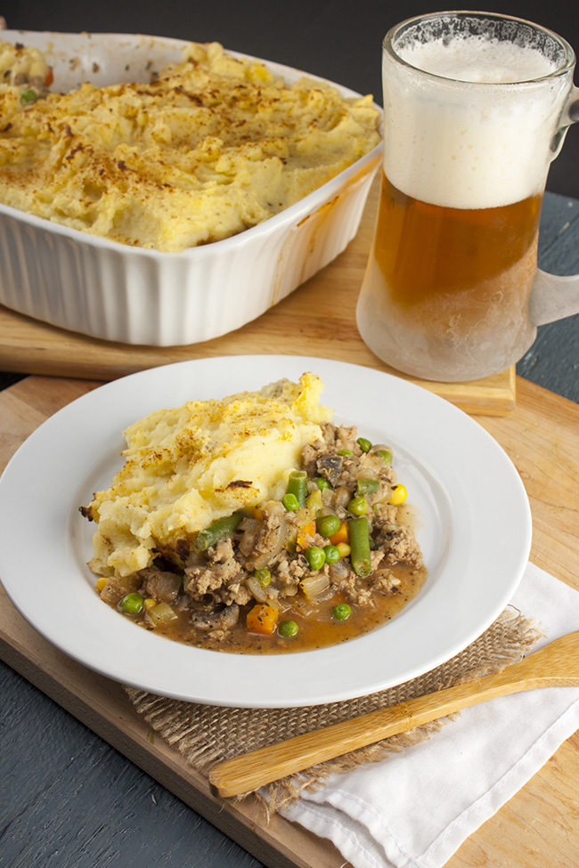 Skinny Turkey Shepherds Pie
