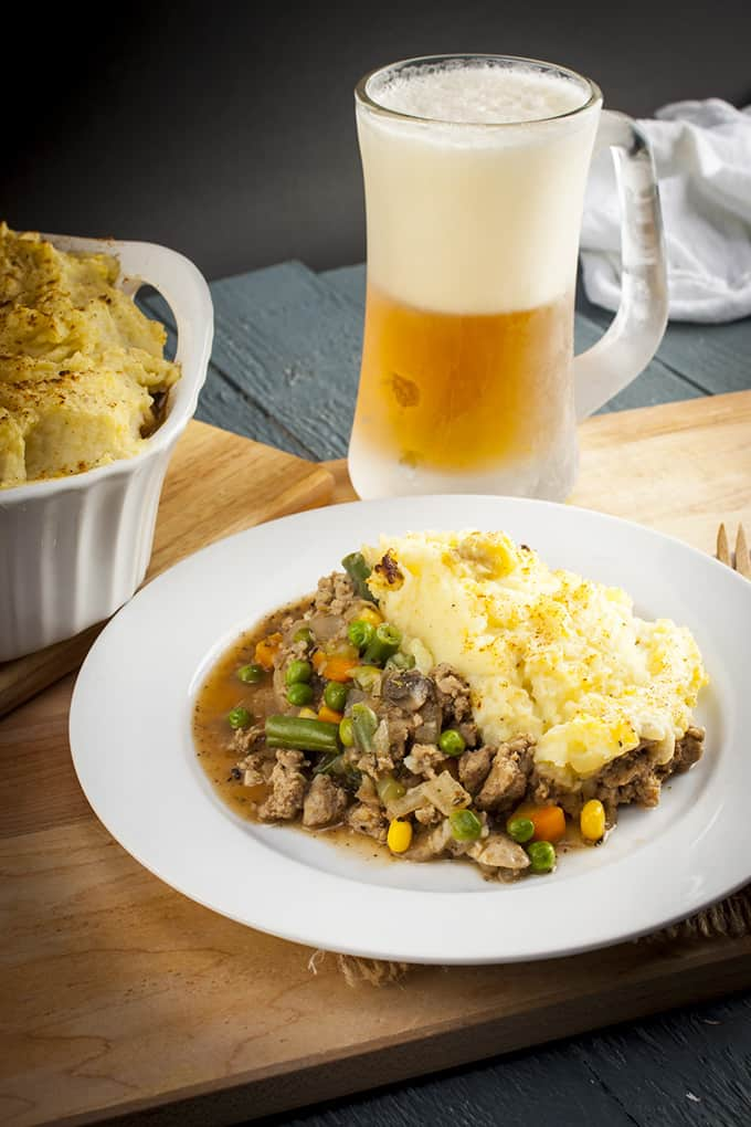Fast and healthy turkey Shepherd's Pie