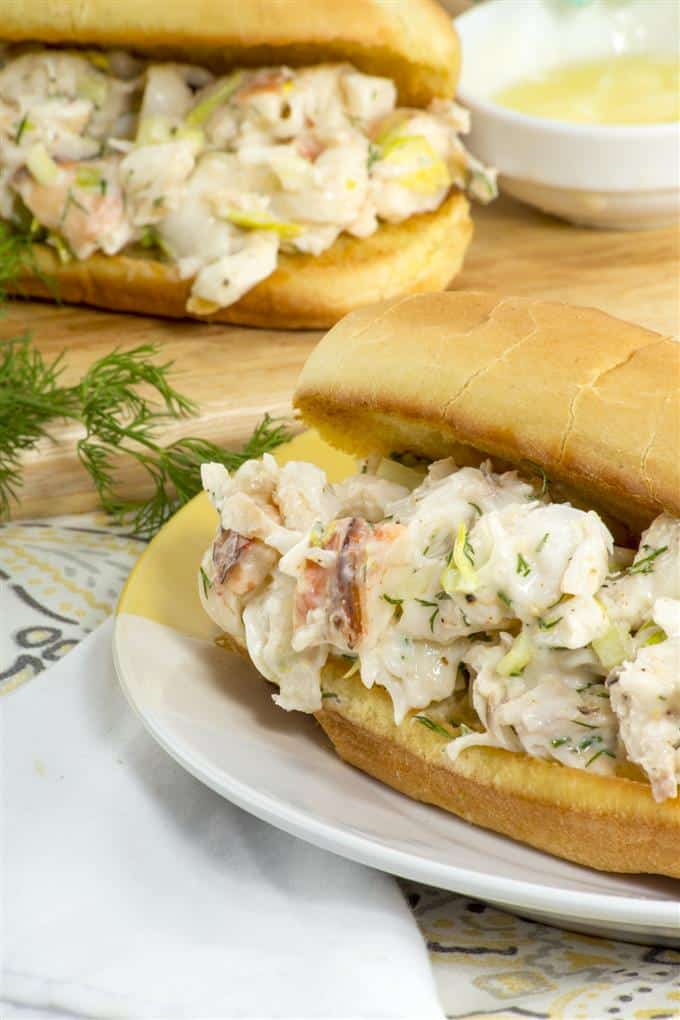 Possibly the best lobster roll you've ever had - fast and easy to make at home.