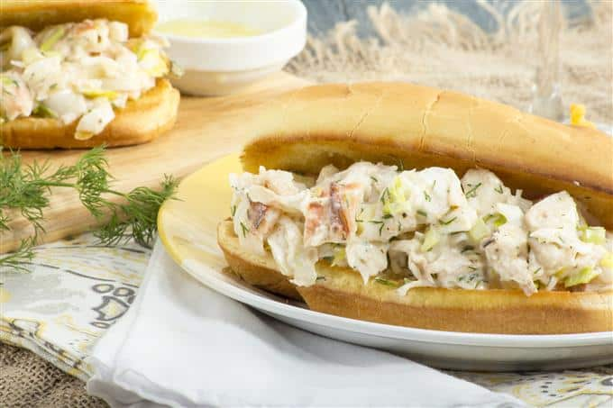 This incredible lobster roll is fast and easy to make at home.