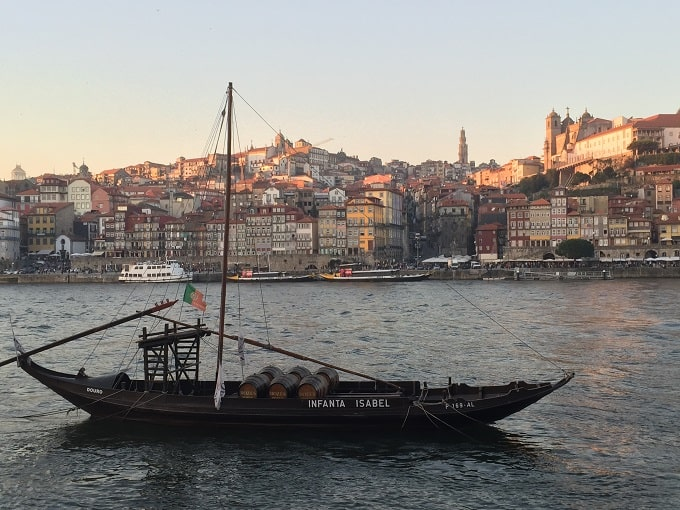 View of Porto and the River Duoro
