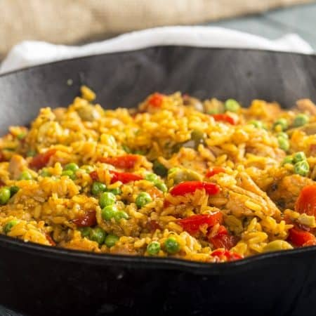 Fast and Easy Arroz con Pollo + $100 Giveaway from Success® Rice