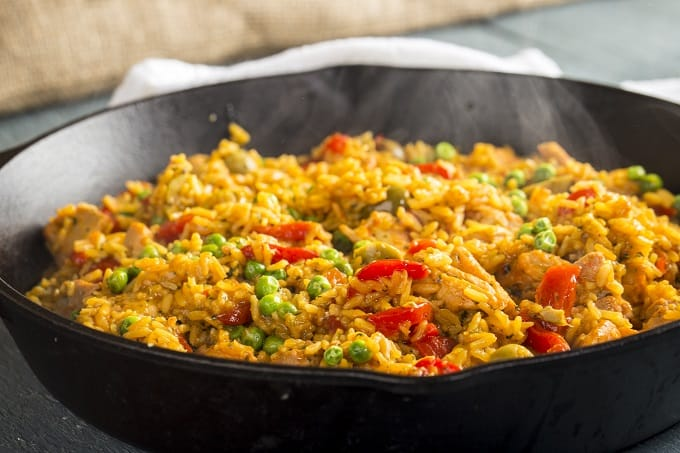 Fast and Easy Arroz con Pollo