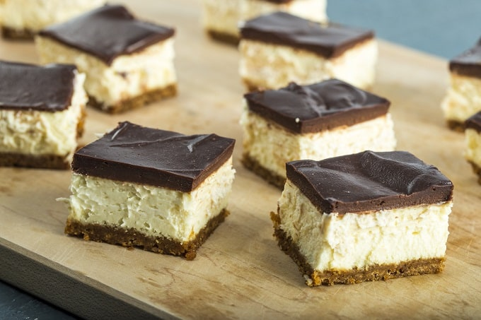 World's Best Chocolate Cheesecake Bars