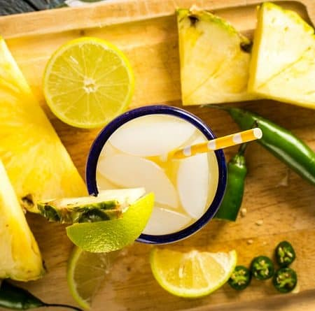 Pineapple Serrano Margarita