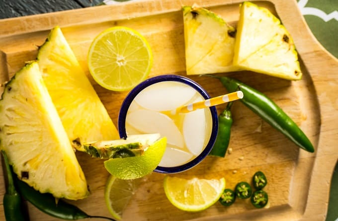 Pineapple Serrano Margarita combines sweet and spice for perfect refreshment