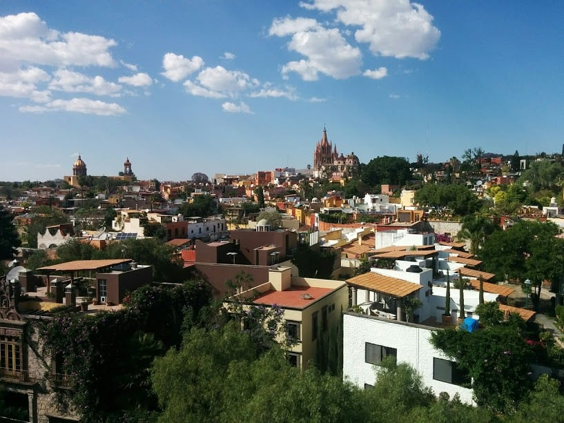 San Miguel de Allende from the Rosewood