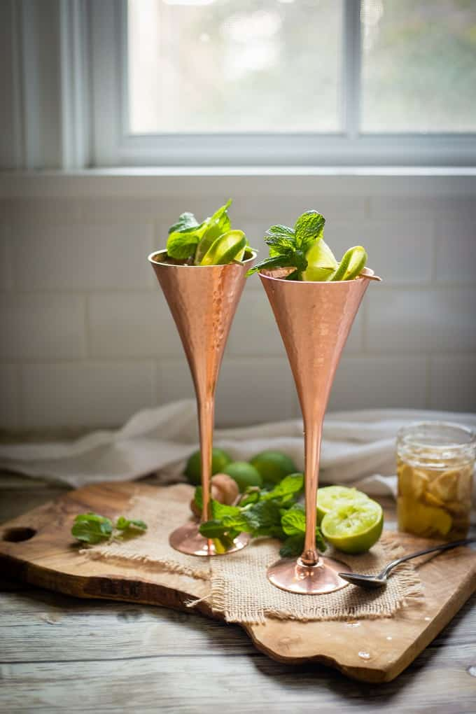 Entertain right this summer with refreshing and bubbly champagne mules