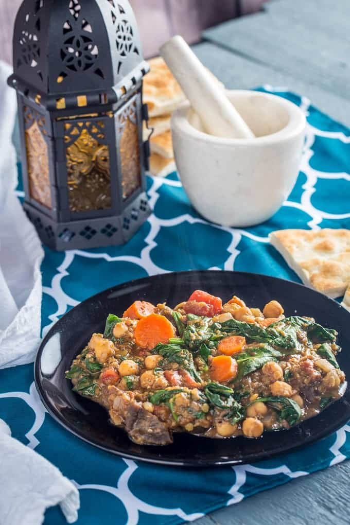 This hearty Moroccan stew is so flavorful you'd never guess it's vegan