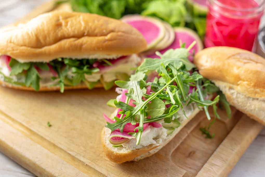 This impressive-looking sandwich is a breeze to put together making it perfect for entertaining